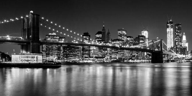 night-skyline-manhattan-brooklyn-bridge-bw-melanie-viola