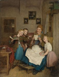 grandmother-with-three-grandchildren-1854