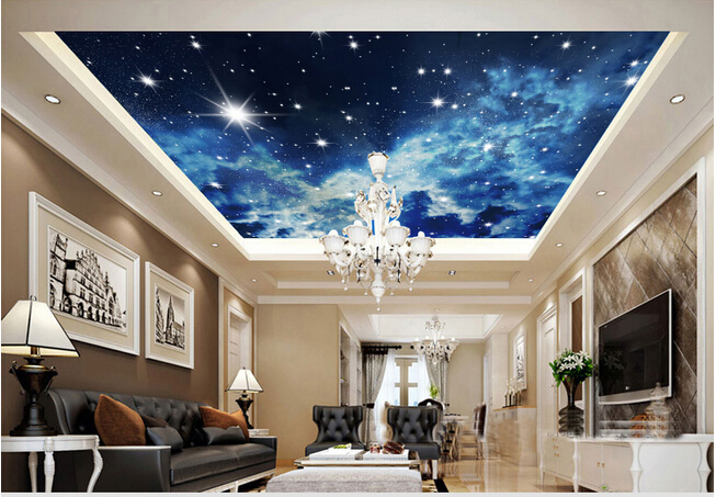 Sistine chapel and so much more the happy quitter for Ceiling mural wallpaper