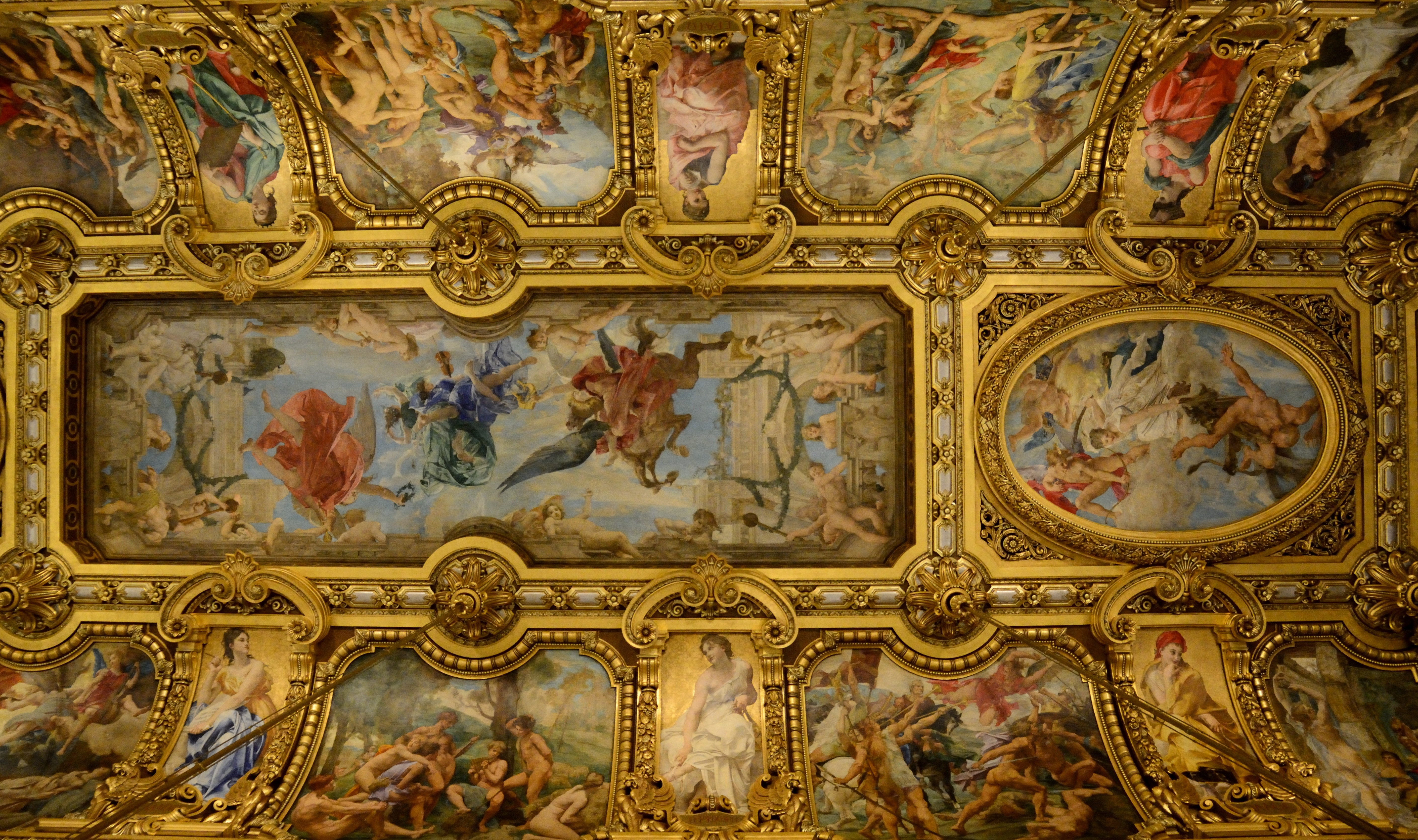 French Ceiling Medallions