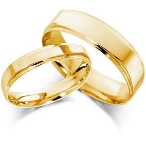 simple-gold-wedding-ring-sets