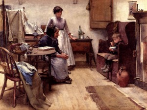 Walter-Langley-XX-The-Orphan-1889-XX-Private-collection