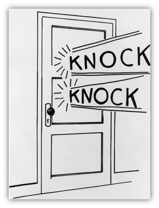 door-to-door  sc 1 st  The happy Quitter! - WordPress.com & Knock knocku2026anybody there? | The happy Quitter!