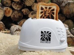 christmas jesus toaster