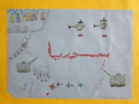 drawings of refugee children 9