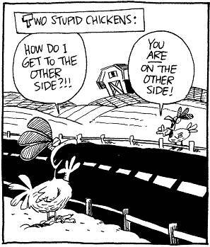 why did the chicken cross the road5