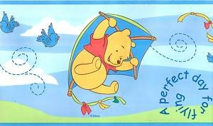 Winnie the pooh flying