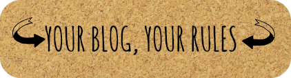Your-blog-your-rules