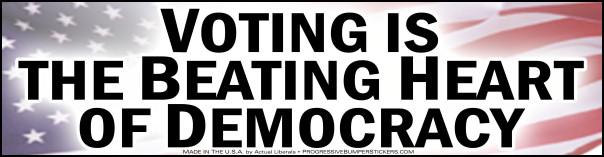 not voting 7
