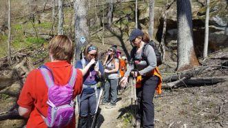 Lake Vesuvius Spring Hike 8 Miles8
