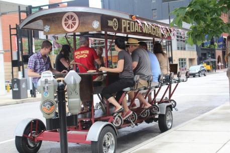 pedal wagon